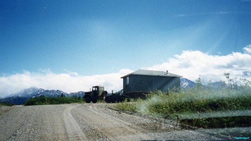 Literal house-moving Alaska