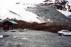 Thompson glacier nightstop
