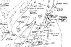 Hand drawn map of Aswan ©Steve Edgar
