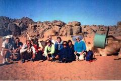 Hardy group in the Algerian sahara