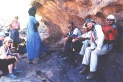 Tassili rock shelter