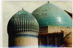 Turquoise domes Samarkand