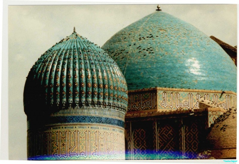 Tiled domes, Samarkand the fluted dome must be very much harder to construct