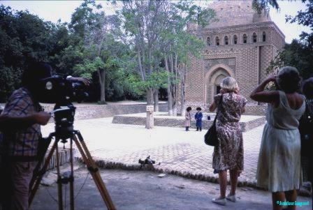 tv crew in chimkent