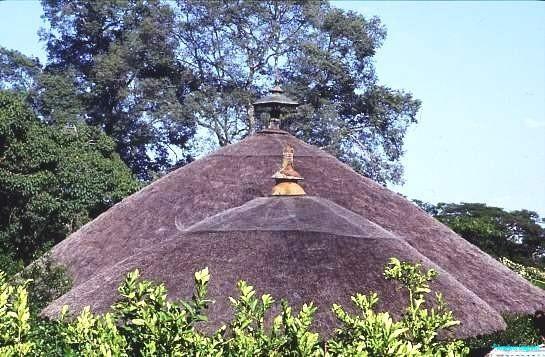 Thatch roofs Lake Tana