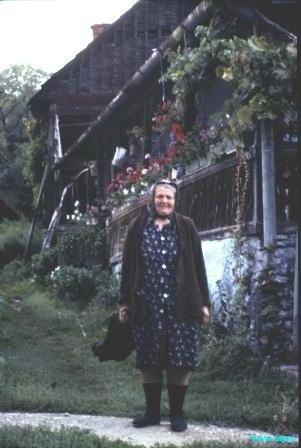 Elderly crofter, Zemplen