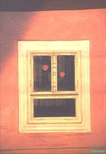 Window detail, Hungary