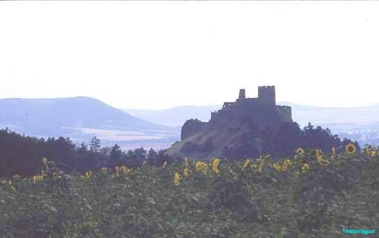 Castle in the Zemplen mountains, Hungary