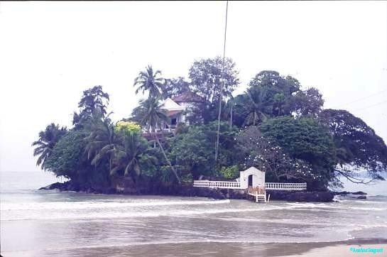 Taprobane island, Southern Sri Lanka.