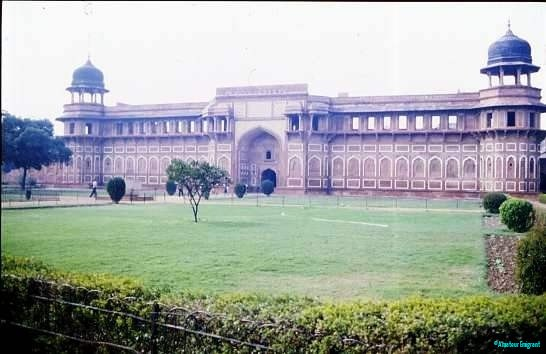 Jehangir Mahal within Agra Fort