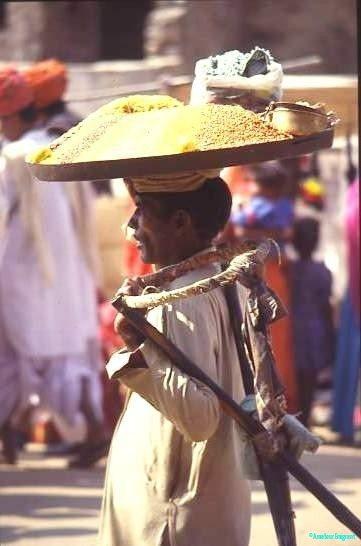 Snack seller, Jaipur