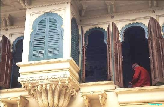 Balcony details, Rajasthan palace