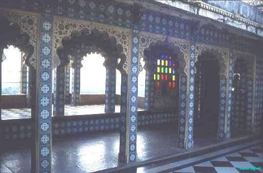 Palace courtyard, Agra Fort