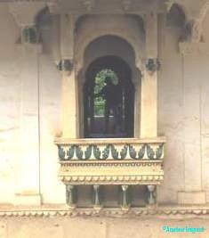 Window and balcony, Rajasthan