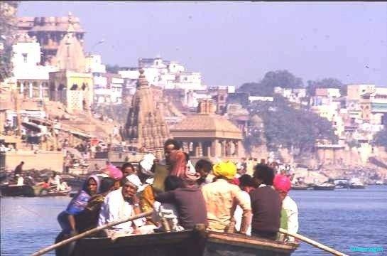 Boat trip, Varanasi