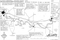 Hand-drawn-map-of-Ganges-sailing-route-©Steve-Edgar