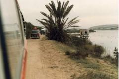 Rear view convoy