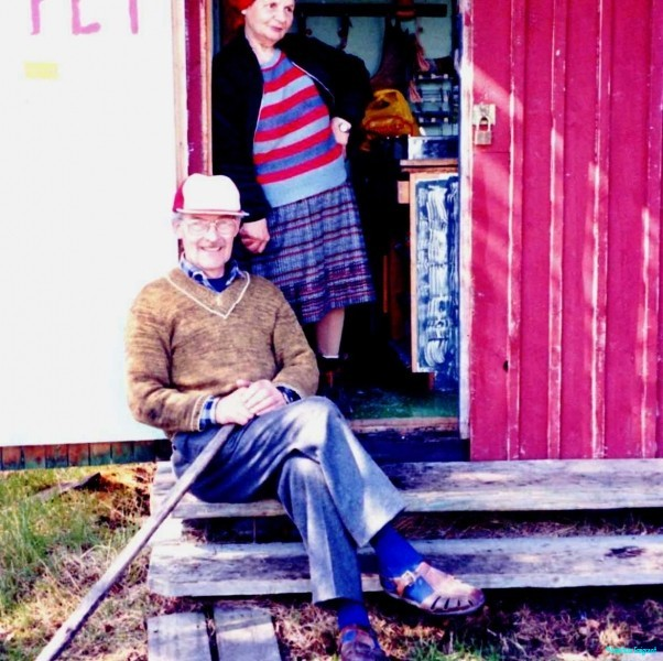 Petter and wife Anna, their little kiosk had fabulous smoked mountain trout. Lovely people.