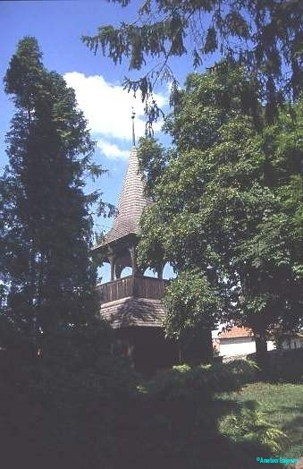 Vemdalens church tower, Sweden