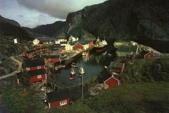A postcard view of Nusfjord, Lofoten Every available anchorage is used to the fullest © TO-FOTO A/S