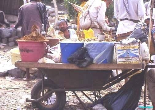 Mobile snack bar, Yemen