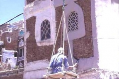 Sprucing up the house, Yemen
