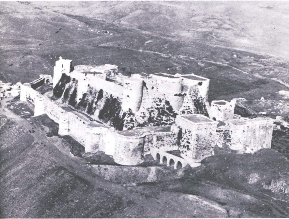Aerial view of Krak des Chevaliers