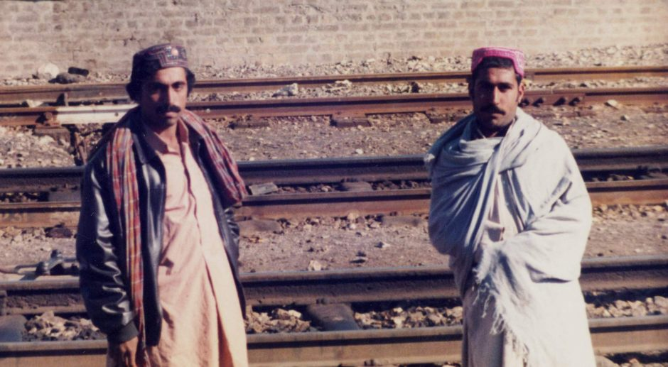 The two Pakistan Railway engineers who were our saviours in Chaman, Pakistan