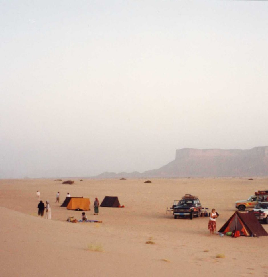 Camping in the Arub al Kahli the Empty Quarter