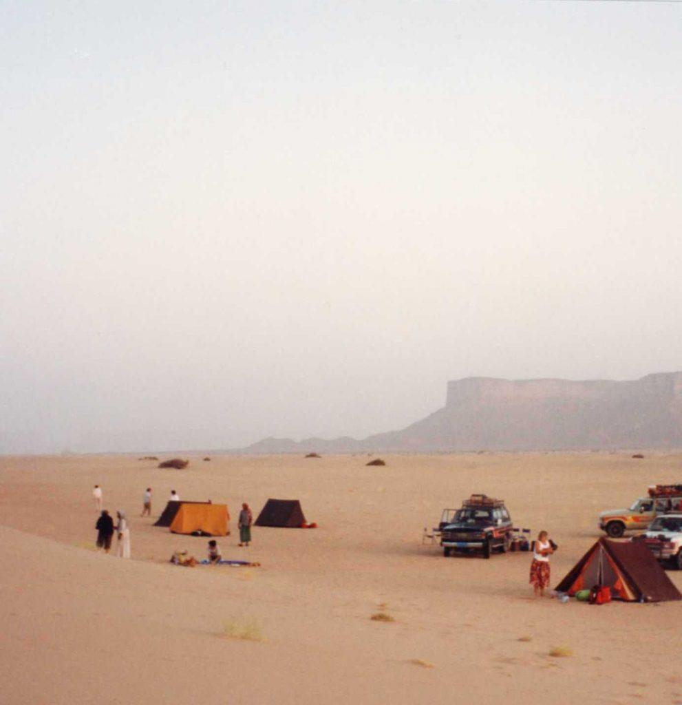 Camping in the Arub al Kahli the Empty Quarter