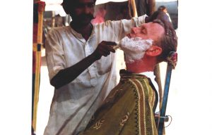 A close shave at Pushkar