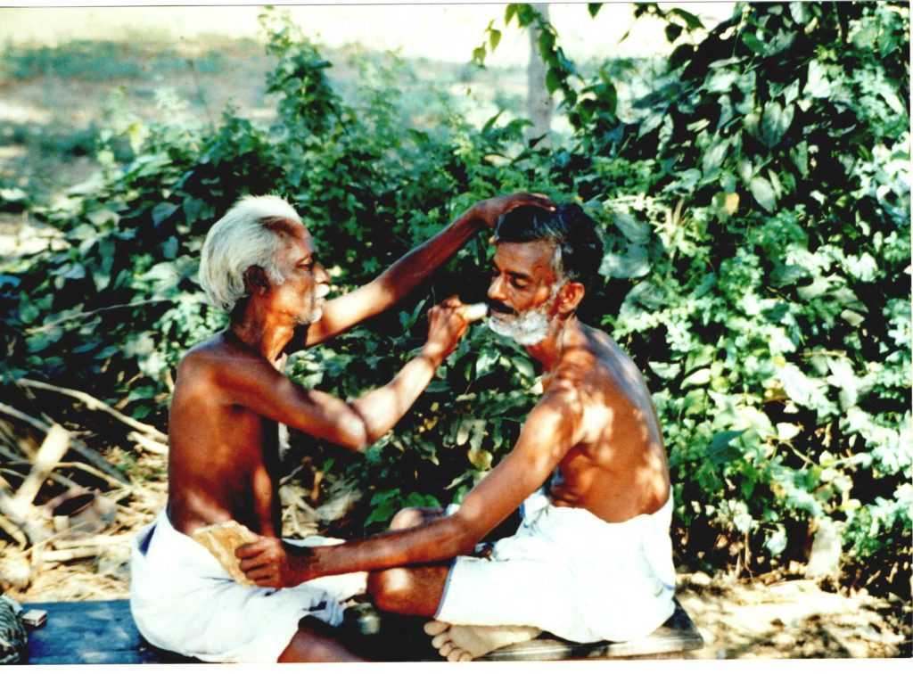 A leisurely way of life in South india