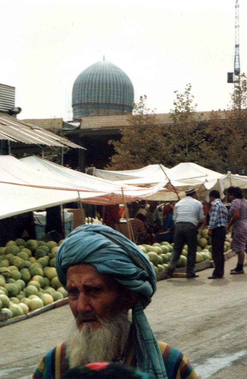 Market scene Chimkent