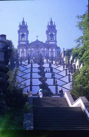 Bom Jesus church at Braga Portugal