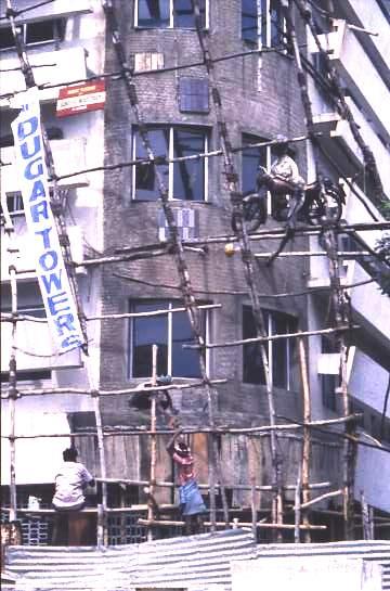 Scaffolding, Madras