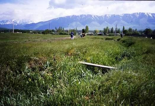 Rural view, Kazakhstan