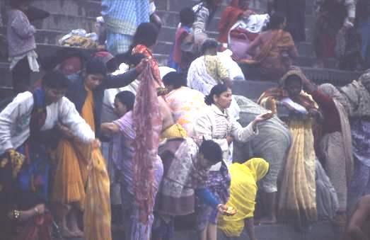 Aarthi ceremony, Rishikesh, India