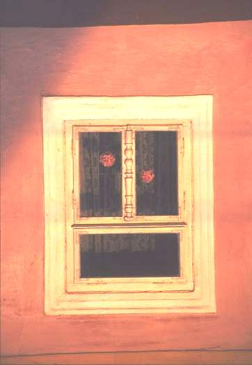 Window detail, Hungary