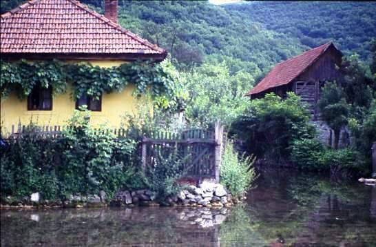 Village houses, Zemplen mountains