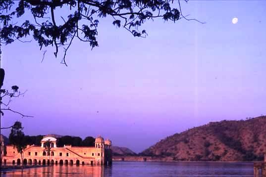 Lake pavilion, Amber, Jaipur