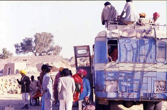 Village bus, Rajasthan