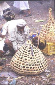Chicken in a basket !