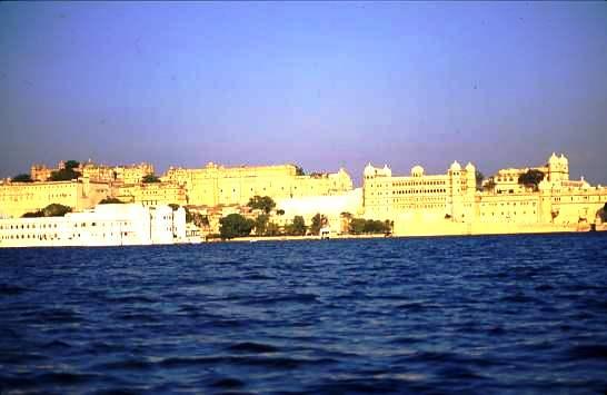 Udaipur City Palace and Lake Palace