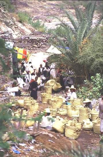 Basket market, Yemen