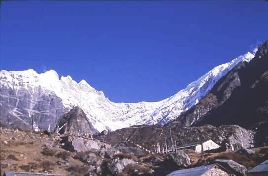Mountain view, Kyangjin Gompa