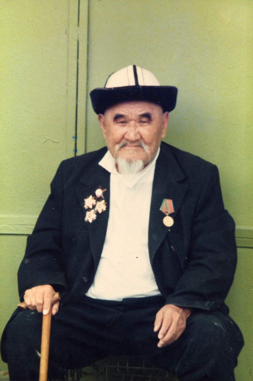 Soviet elder, Kazakhstan