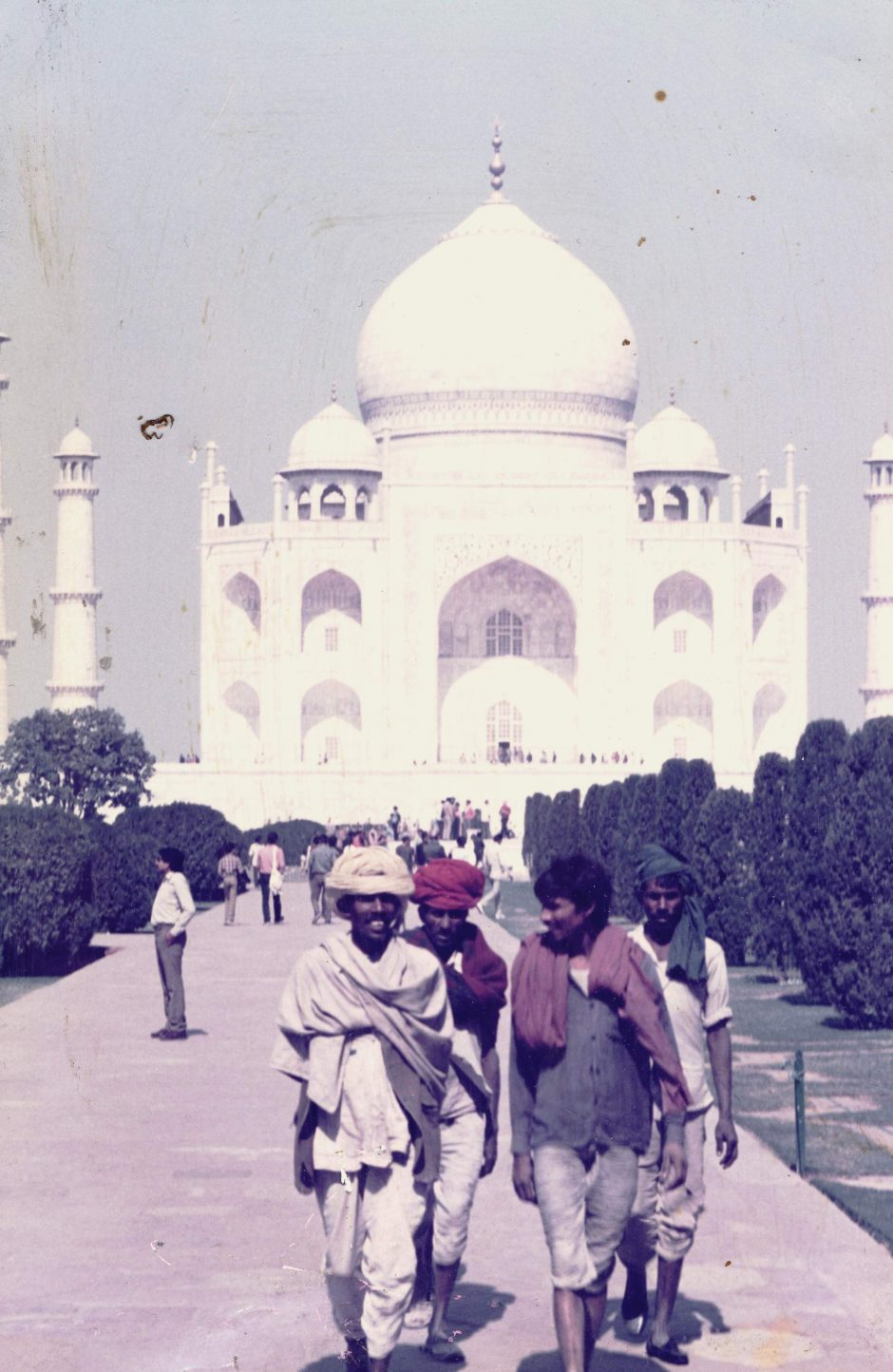 The lads who look after the Taj